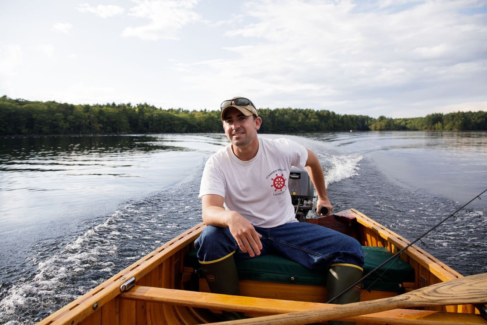 About mike kinney maine guide for Maine fishing guide