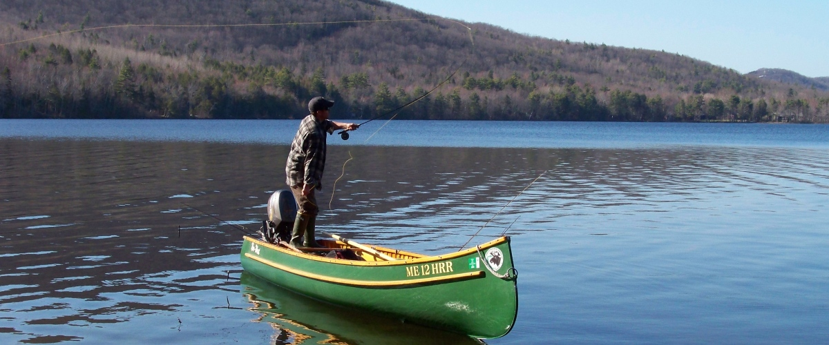 Mike kinney maine guide fishing and canoeing adventures for Maine fishing guide