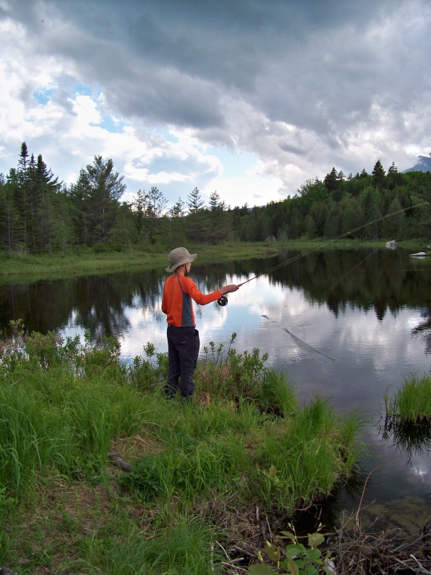 Backcountry Fly fishing Trips -- Northern Maine