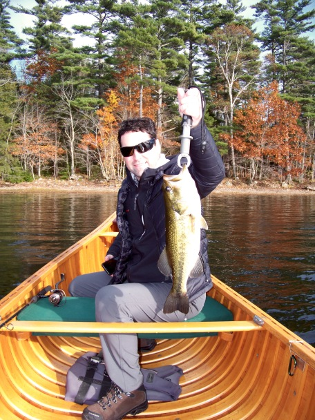 November Bass - Megunticook Lake
