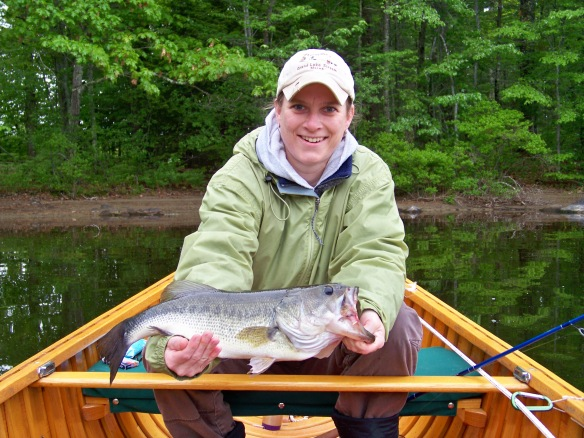 Bass Fishing -- Midcoast Maine