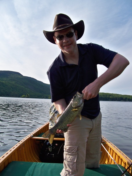 Fly Fishing Smallmouth -- Camden, Maine